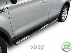 Side bars Chrome stainless steel side steps for KUGA mk1 2008-2012