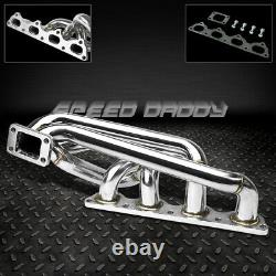 T3/t4 Stainless Turbo Manifold Exhaust 89-95 Volvo 240/740/940 16v B20/b23/b230