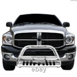 Topline For 1999-2006 Tundra/Sequoia Bull Bar Bumper Grille Guard Stainless