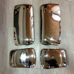 VOLVO FH12/FH13 Chrome Wing Mirror Cover Set 4Pieces Stainless Steel