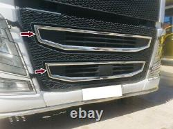 VOLVO FH 16 Chrome Front Grille 2Pieces Stainless Steel