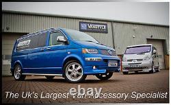 Vauxhall Vivaro 01-14 76mm H/duty Swb Side Bars Stainless Steel Chrome Steps Van