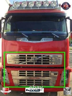 Volvo FH12 Chrome Front Grill 10Pieces Stainless Steel