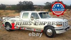 1987-1996 Ford F-250 Pickup Crew Cab Duelie Dually Bed Rocker Panel Trim-3 12pc