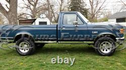 1987-1996 Ford F-series Pickup Regular Cab Long Bed Rocker Panel Trim-3 10pc