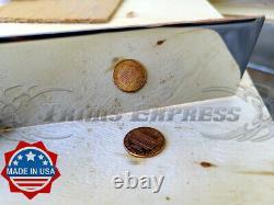 1988-1991 Mercury Grand Marquis Panneau D'enroulement En Acier Inoxydable À Bascule 6 12pc Fl