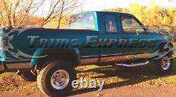 1988-1998 Chevy/gmc C/k Pickup Cabine Allongée Tablette À Roulettes 6.25withf