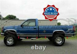 1988-1998 Chevy/gmc C/k Pickup Regular Cab Long Bed Rocker Panel Trim 6.25 N/f