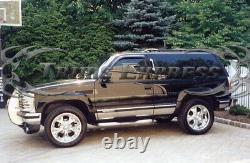 1995-1999 Chevy Tahoe 2dr Avec Flare Rocker Panel Trim Fl Inox 6 1/4 8pc