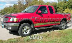 1997-2003 Ford F-150 Super Cab Lit Court Avecflare Rocker Panel Trim 6 10pc