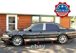 1997-2005 Buick Park Avenue Corps Du Groupe De Rocker Moulage En Acier Inoxydable 7 1/2 6pc