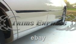 1998-2011 Lincoln Town Car Lower Rocker Panneau Corps Côté Moulent Accent 8pc