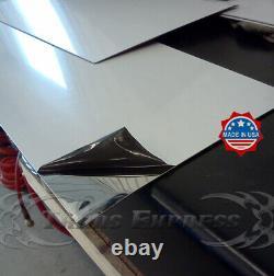 1998-2011 Lincoln Town Voiture 8pc Panneau De Rocker Coup De Moulage 9 Bw Acier Inoxydable