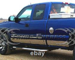 1999-2006 Chevy Silverado 4dr Cabin D'une Cabine Longue Cabinez-lames De Bascule 12p 6 Wf