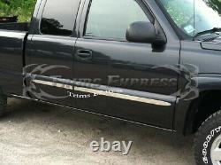 1999-2006 Chevy Silverado/sierra 4dr Extended Cab Moulage Latéral Plat De La Cabine 2