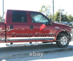 1999-2010 Ford Super Duty/f-250 Crew Cab Short Bed Rocker Panel Trim 6