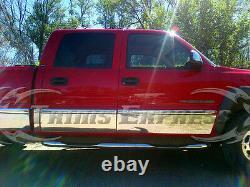 2001-2006 Chevy Silverado Crew Cab 6.8' Short Lit Bas De Caisse Garniture 8 7/8 Withf