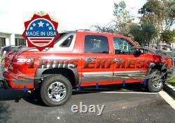 2002-2006 Chevy Avalanche Rocker Panel Trim Body Side Molding Wf 6 10pc