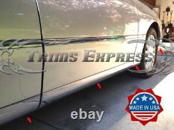 2003-2011 Lincoln Town Car Lower Rocker Panel Body Side Trim Moulage Accent-12pc