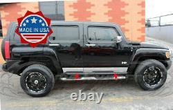 2005-2010 Hummer H3 Chrome Stainless Steel Rocker Panel Trim 5.5 4pcs Body Side