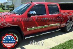 2007-2008 Silverado Crew Cab Body Side Moulage Trim Cover 4 1/4