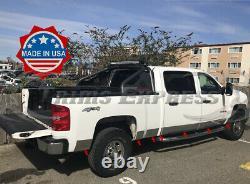 2007-2013 Chevy Silverado Crew Cab 6.8' Short Bed Rocker Panel Trim 6 14pc