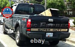 2008-2016 Super Duty/f-250 Tailgate Tim Molding Outline Superduty Inox