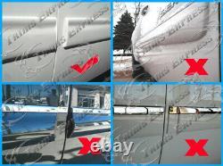 2009-2013 Chevy Silverado Carrosserie Latérale Prolongée De La Cabine De Moulage 4,25 Trim