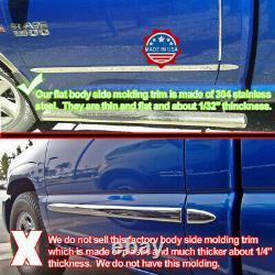 2009-2014 Ford F-150 Super Cab 6,5' Lit Court N/f Moulage Latéral Plat 1,5