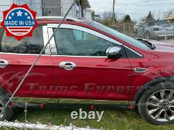 2013-2019 Ford Escape Rocker Panel Trim Body Side Molding Door Cover 4 6pc