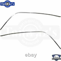 70-81 F-body Metal Chrome Toit Inoxydable Drip Rail Rain Gutter Kit De Moulage
