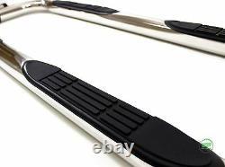 Barres Latérales Chrome Étapes Latérales En Acier Inoxydable Pour Jeep Grand Cherokee 2005-2010