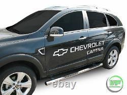 Barres Latérales Chrome Étapes Latérales En Acier Inoxydable Pour Vauxhall Antara 2006-2015