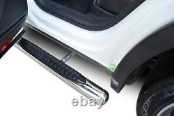 Barres Latérales Chrome Étapes Latérales En Acier Inoxydable Pour Vw Tiguan Mk2 2016-up