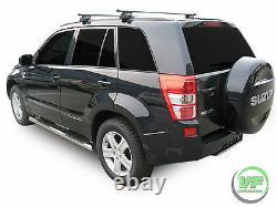 Barres Latérales Chrome Marche Latérale En Acier Inoxydable Pour Suzuki Grand Vitara Mk2 5 Porte