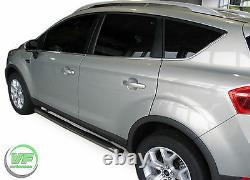 Barres Latérales Chrome Marches Latérales En Acier Inoxydable Pour Kuga Mk1 2008-2012
