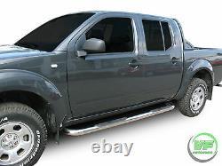 Barres Latérales Chrome Marches Latérales En Acier Inoxydable Pour Nissan Navara D40 2005-2015