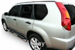 Barres Latérales Chrome Marches Latérales En Acier Inoxydable Pour Nissan X-trail T31 2007-2013