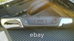 Bumper D'étape Arrière En Acier Inoxydable Chrome Pour Ford Ranger 2012+