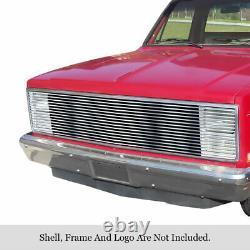 Calandre Fantôme Pour 81-88 Chevy C10 Gmc Pickup Silverado Calandre En Acier Inoxydable