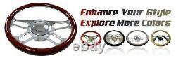 Chrome 30 Inoxydable Changement De Colonne Automatique Colonne De Direction Inclinable Gm Chevrolet No Allumage