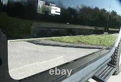 Chrome Rocker Panel Trim 4pcs Qaa Acier Inoxydable Pour Hummer H2 2003-2009