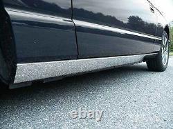 Convient À Ford Thunderbird 2002-2005 Stainless Steel Chrome Rocker Panel Molding 4pcs