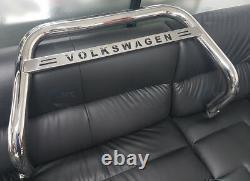 Convient À Volkswagen T5 Bull Bar Chrome Nudge A-bar 2003-2009 Acier Inoxydable (nxl1)