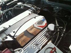 Corvette C4 Seulement Fits 1994-1996 Couvre Rail De Carburant Lt1 Chrome Moteur Inoxydable