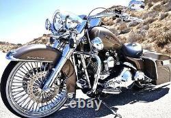 Fat Jante 21x3.5 52 Dna Harley Softail Modèle En Acier Inoxydable USA Construit