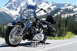 Fat Jante Arrière 16x3.5 Inoxydable Spokes USA Construit Modèles Harley Softail