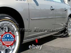 Fit2005-2008 Dodge Magnum Rocker Panneau Trim Extreme Lower Overlay 4 2pc