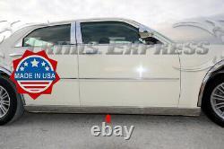 Fit2005-2010 Chrysler 300 300c 2pc Extreme Bas Rocker Panneau Moulure