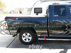Fit2009-2018 Dodge Ram Quad Cab 6,4' Tablette À Roulettes À Lit Court N/f 3 1/8 L